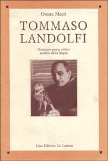 Rallydeicolliscaligeri.it Tommaso Landolfi. Narratore, poeta, critico, artefice della lingua Image