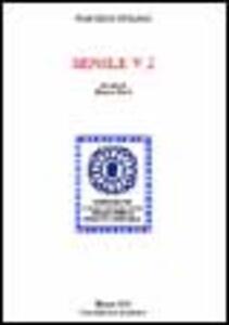 Senile. Libro 5º, 2