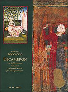 Decameron. Con le illustrazioni dell'autore e di grandi artisti fra Tre e Quattrocento
