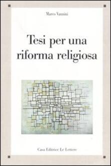 Radiospeed.it Tesi per una riforma religiosa Image