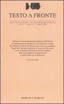 Ilmeglio-delweb.it Testo a fronte. Vol. 30 Image