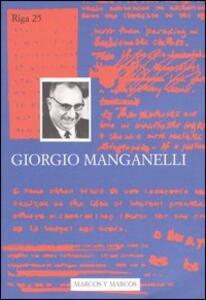 Giorgio Manganelli