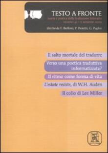 Filippodegasperi.it Testo a fronte. Vol. 41 Image