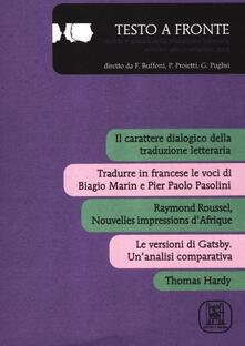 Radiospeed.it Testo a fronte. Vol. 46 Image