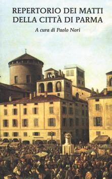 Squillogame.it Repertorio dei matti della città di Parma Image