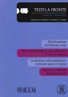 Ascotcamogli.it Testo a fronte. Vol. 56 Image