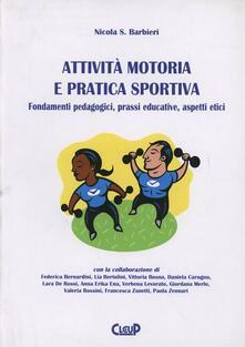Parcoarenas.it Attività motoria e pratica sportiva. Fondamenti pedagogici, prassi educative, aspetti etici Image