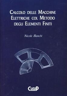 Premioquesti.it Calcolo delle macchine elettriche col metodo degli elementi finiti Image
