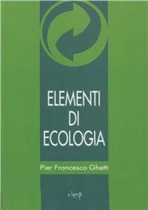 Elementi di ecologia