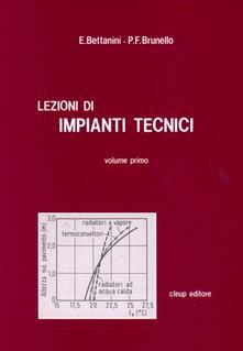Lezioni di impianti tecnici. Vol. 1