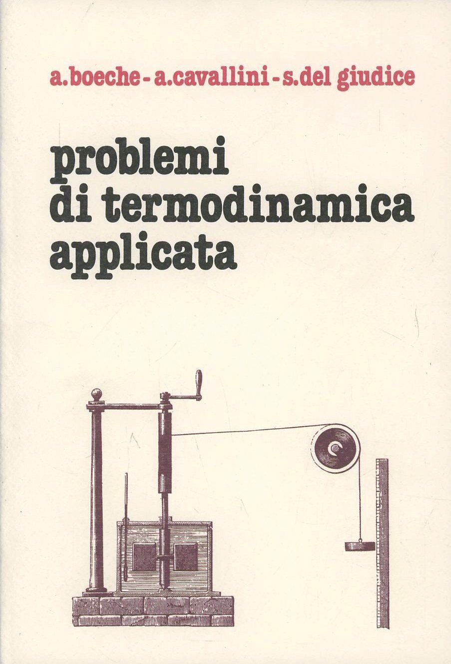 Problemi di termodinamica applicata