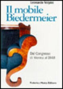 Il mobile Biedermeier. Dal Congresso di Vienna al 1848