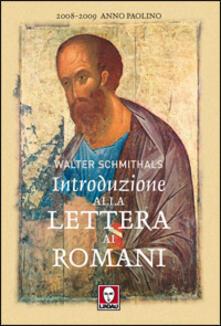 Vitalitart.it Introduzione alla lettera ai romani Image