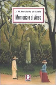 Memoriale di Aires - Joaquim Machado de Assis - copertina