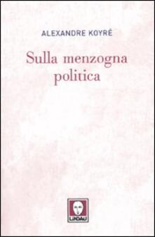 Promoartpalermo.it Sulla menzogna politica Image