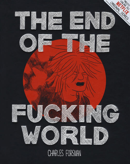 The end of the fucking world - Charles Forsman - copertina