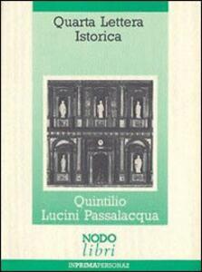 Quarta lettera istorica. Un mobile barocco e altre curiosità di un erudito comasco del Seicento