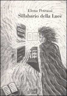 Sillabario della luce - Elena Petrassi - copertina
