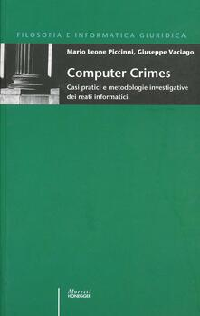 Promoartpalermo.it Computer crimes. Casi pratici e metodologie investigative dei reati informatici Image