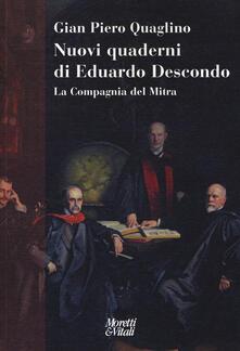 Amatigota.it Nuovi quaderni di Eduardo Descondo. La Compagnia del Mitra Image