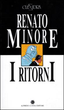 I ritorni-La signora M. - Renato Minore,Chiara Palazzolo - copertina