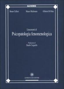 Premioquesti.it Lineamenti di psicopatologia fenomenologica Image