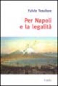 Per Napoli e la legalità