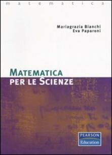 Lpgcsostenible.es Matematica per le scienze Image