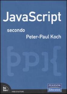 Camfeed.it JavaScript secondo Peter-Paul Koch Image