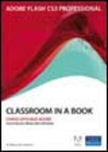 Foto Cover di Adobe Flash CS3. Classroom in a book. Con CD-ROM, Libro di  edito da Pearson