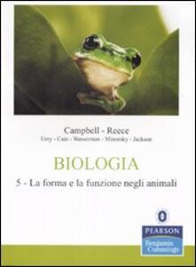 Birrafraitrulli.it Biologia. Vol. 5: La forma e la funzione negli animali. Image