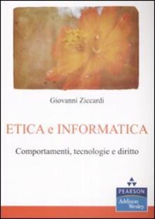 Equilibrifestival.it Etica e informatica. Comportamenti, tecnologie e diritto Image