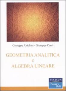 Listadelpopolo.it Geometria analitica e algebra lineare Image