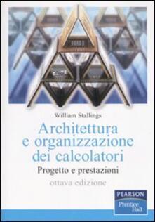 Antondemarirreguera.es Architettura e organizzazione dei calcolatori. Progetto e prestazioni Image