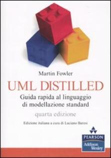 Fondazionesergioperlamusica.it UML distilled. Guida rapida al linguaggio di modellazione standard Image