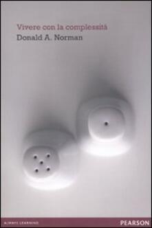 Vivere con la complessità - Donald A. Norman - copertina