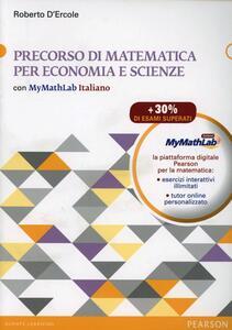 Precorso di matematica per economia e scienze