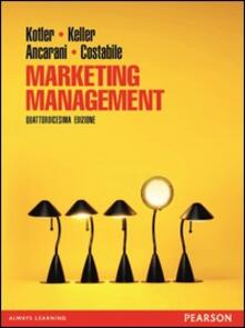 Marketing management - W. G. Scott,Philip Kotler - ebook
