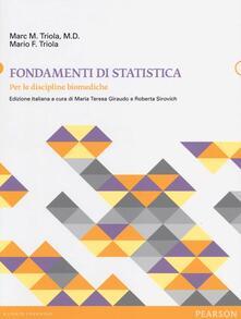Daddyswing.es Fondamenti di statistica. Per le discipline biomediche Image