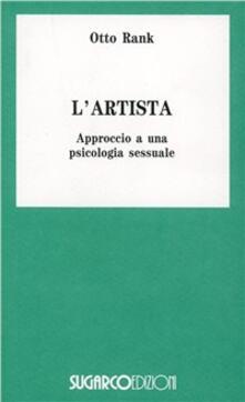 L' artista - Otto Rank - copertina