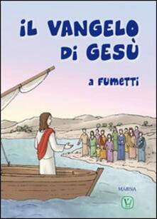 Il vangelo di Gesù a fumetti - copertina