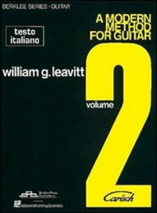 Modern method for guitar (A). Vol. 2