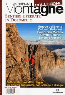 Associazionelabirinto.it Sentieri e ferrate in Dolomiti. Vol. 2 Image