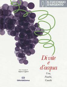 Charun.it Il Cucchiaio d'Argento. Di vite e d'acqua. Uva, fuochi, cuochi. Ediz. illustrata Image