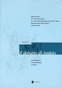 Il debutto di Amleto. Teatro e giovani