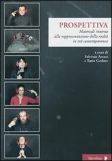 Prospettiva. Materiali intorno alla rappresentazione della realtà in età contemporanea - copertina
