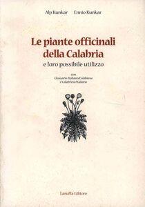 Le piante officinali della Calabria e loro possibile utilizzo