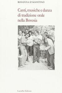 Canti, musiche e danza di tradizione orale nella bovesia
