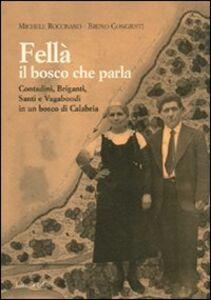 Fellà, il bosco che parla. Contadini, briganti, santi e vagabondi in un bosco di Calabria