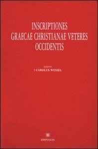 Inscriptiones graecae christianae veteres Occidentis
